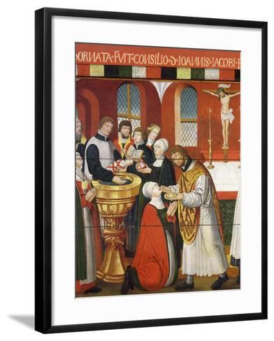 Martin Luther, German Roman Catholic Priest who was Excommunicated and Led Reformation in Germany--Framed Art Print