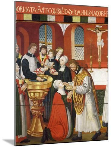 Martin Luther, German Roman Catholic Priest who was Excommunicated and Led Reformation in Germany--Mounted Giclee Print