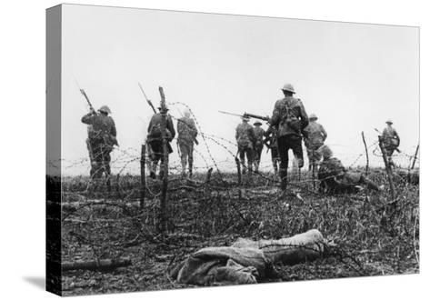 First day of Battle of the Somme July 1st 1916--Stretched Canvas Print