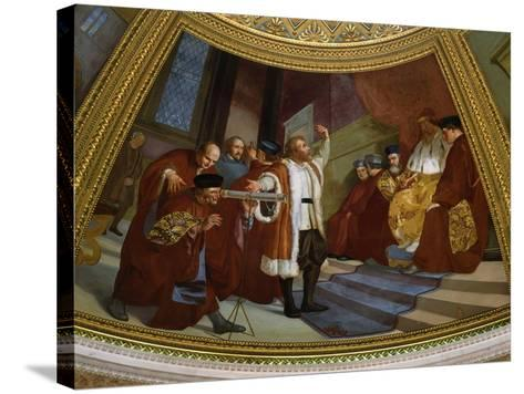 Galileo Galilei, 1564-1642, Italian Astronomer and Mathematician--Stretched Canvas Print