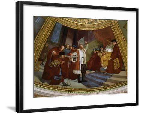Galileo Galilei, 1564-1642, Italian Astronomer and Mathematician--Framed Art Print