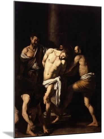 The Flagellation of Christ-Caravaggio-Mounted Giclee Print