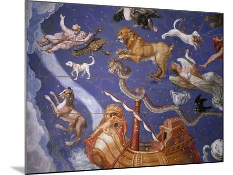 Ceiling from Sala del Mappamondo Fresco by G. De Vecchi and da Reggio--Mounted Giclee Print