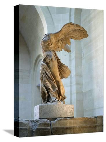 The Winged Victory or Nike of Samothrace--Stretched Canvas Print