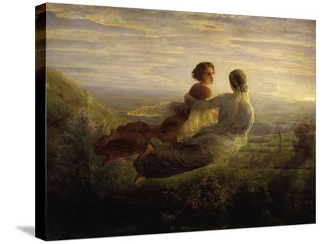 The Soul's Flight-Louis Janmot-Stretched Canvas Print