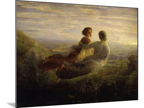 The Soul's Flight-Louis Janmot-Mounted Giclee Print