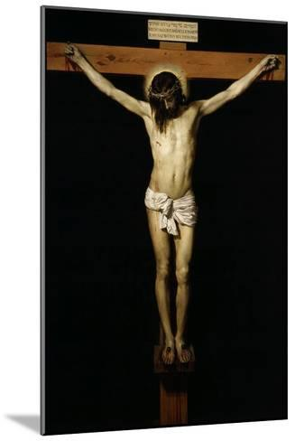 Cristo Crucificado (Christ on the Cross)-Diego Velazquez-Mounted Giclee Print