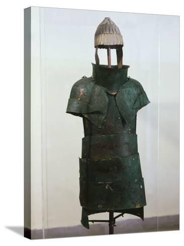 Armour, Bronze, Mycenaean, from Dendra, Greece--Stretched Canvas Print