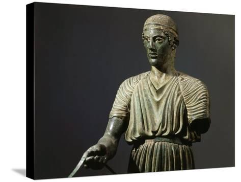 The Charioteer of Delphi, Bronze, c. 478 BC Archaic Greek--Stretched Canvas Print