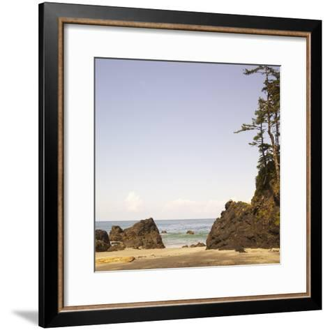Rocky Beach Scene, Cape Scott, Vancouver, Bc, Canada-Adam Blasberg-Framed Art Print