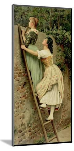 Curiosity, from the Pears Annual, Christmas, 1892-Eugen Von Blaas-Mounted Giclee Print