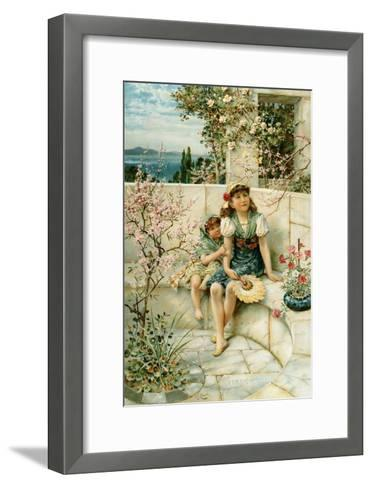 Butterflies, from the Pears Annual, 1910-William Stephen Coleman-Framed Art Print