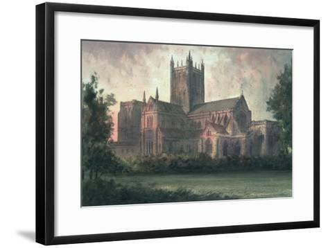 Wells Cathedral: View from the Southeast-Paul Braddon-Framed Art Print