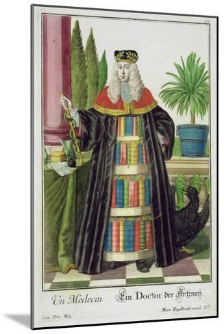 A Doctor-Martin Engelbrecht-Mounted Giclee Print