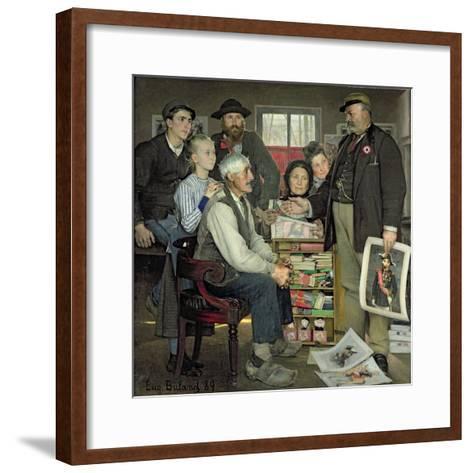 Propaganda, 1889-Jean Eugene Buland-Framed Art Print