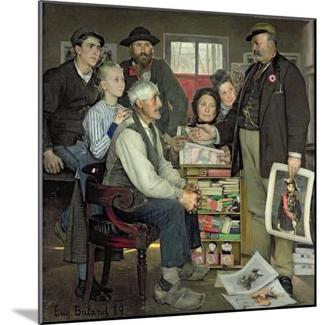 Propaganda, 1889-Jean Eugene Buland-Mounted Giclee Print