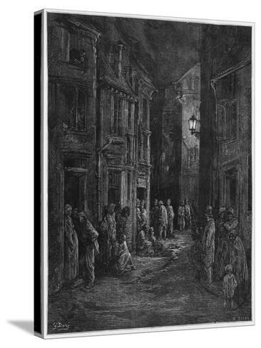 Bluegase-field, Illustration from 'Londres' by Louis Enault-Gustave Dor?-Stretched Canvas Print