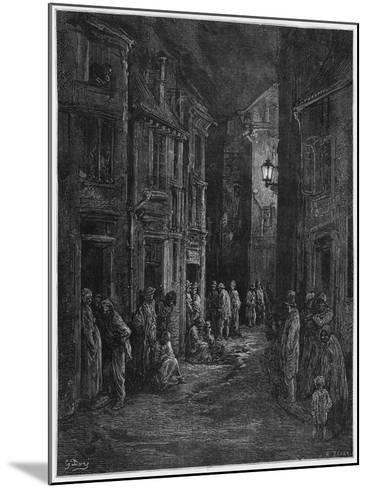 Bluegase-field, Illustration from 'Londres' by Louis Enault-Gustave Dor?-Mounted Giclee Print