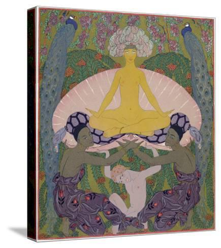 The Birth of Venus-Georges Barbier-Stretched Canvas Print