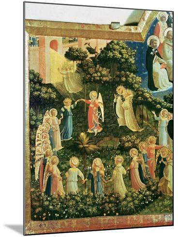 The Last Judgement-Fra Angelico-Mounted Giclee Print