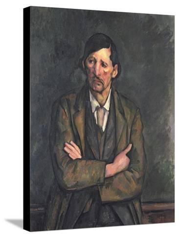 Man with Crossed Arms, c.1899-Paul C?zanne-Stretched Canvas Print