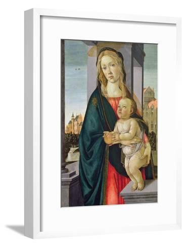 Virgin and Child-Sandro Botticelli-Framed Art Print
