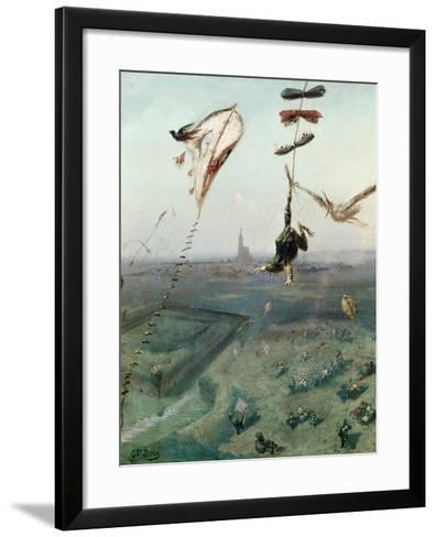 Between Heaven and Earth, 1862-Gustave Dor?-Framed Art Print