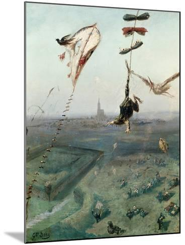 Between Heaven and Earth, 1862-Gustave Dor?-Mounted Giclee Print