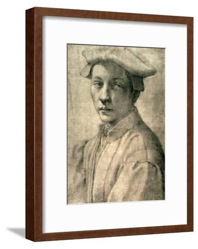 Portrait of Andrea Quaratesi, c.1532-Michelangelo Buonarroti-Framed Art Print