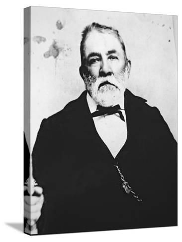 Judge Roy Bean--Stretched Canvas Print