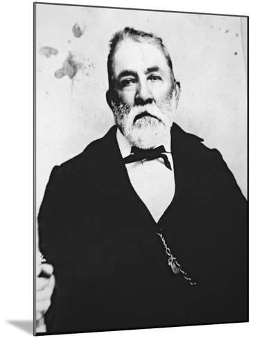 Judge Roy Bean--Mounted Giclee Print