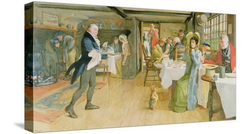Begging for Supper-Cecil Aldin-Stretched Canvas Print