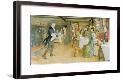 Begging for Supper-Cecil Aldin-Framed Art Print