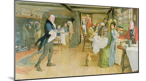 Begging for Supper-Cecil Aldin-Mounted Giclee Print