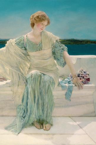 Ask Me No More, 1906-Sir Lawrence Alma-Tadema-Stretched Canvas Print