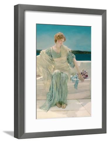 Ask Me No More, 1906-Sir Lawrence Alma-Tadema-Framed Art Print