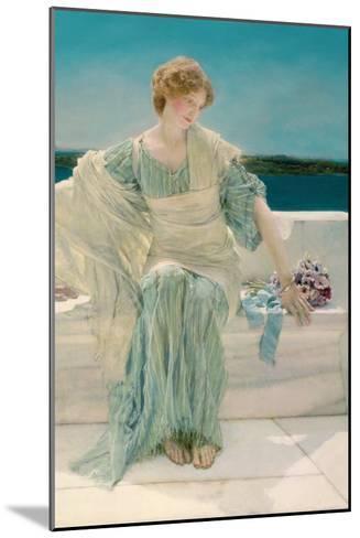 Ask Me No More, 1906-Sir Lawrence Alma-Tadema-Mounted Giclee Print