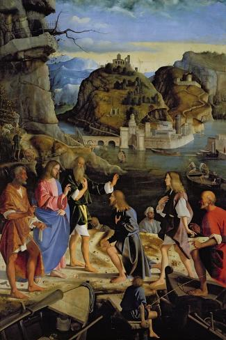 The Calling of the Sons of Zebedee-Marco Basaiti-Stretched Canvas Print