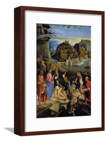 The Calling of the Sons of Zebedee-Marco Basaiti-Framed Art Print
