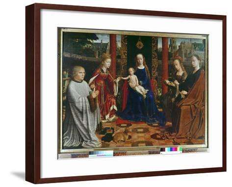 The Virgin and Child with Saints and Donor, 1523-Gerard David-Framed Art Print