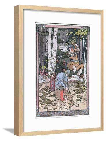 Scene from a Russian Fairy Tale, 1899-Ivan Bilibine-Framed Art Print