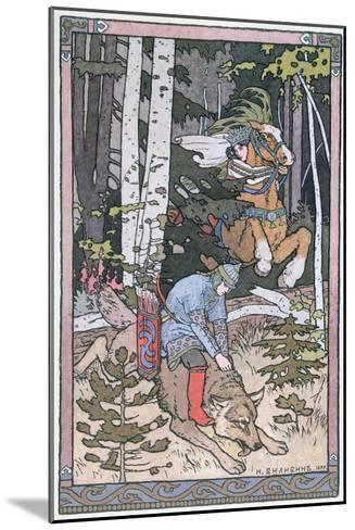 Scene from a Russian Fairy Tale, 1899-Ivan Bilibine-Mounted Giclee Print