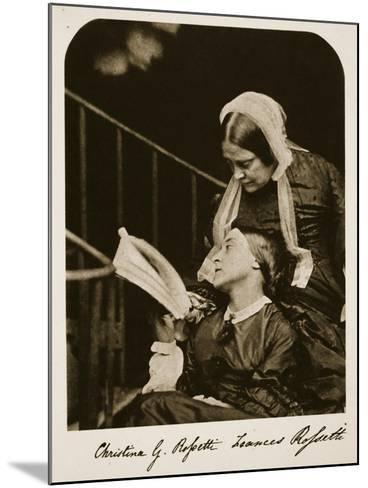 Christina Rossetti and Her Mother Frances Rossetti, 7th October 1863-Charles Lutwidge Dodgson-Mounted Giclee Print