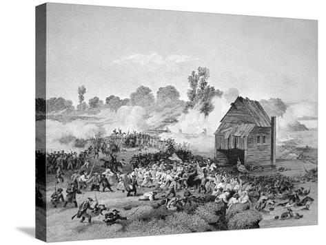 Battle of Long Island, 30 August 1776--Stretched Canvas Print