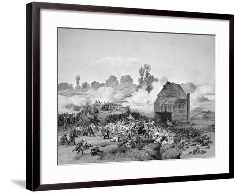 Battle of Long Island, 30 August 1776--Framed Art Print