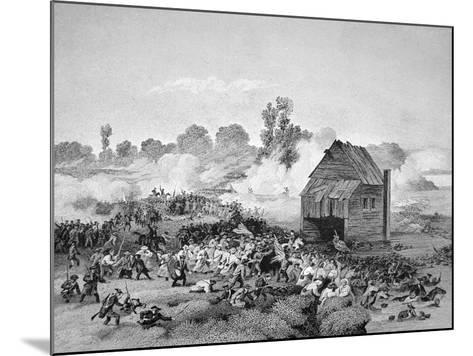 Battle of Long Island, 30 August 1776--Mounted Giclee Print