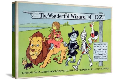 The Wonderful Wizard of Oz and Father Goose, C.1900-William W^ Denslow-Stretched Canvas Print
