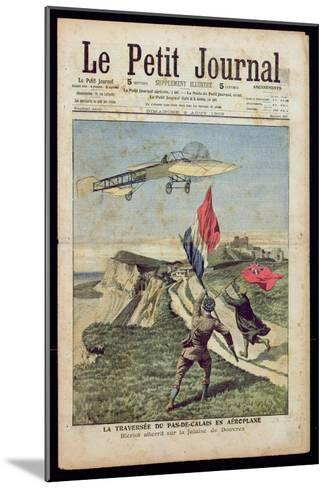 Louis Bleriot--Mounted Giclee Print