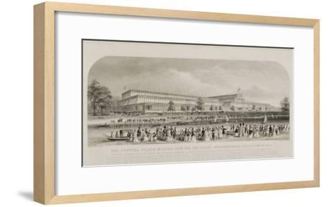 Crystal Palace in Hyde Park for the Great International Exhibition of 1851, pub. by Read and Co.--Framed Art Print
