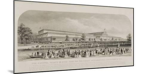 Crystal Palace in Hyde Park for the Great International Exhibition of 1851, pub. by Read and Co.--Mounted Giclee Print
